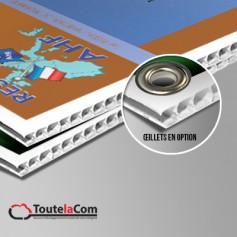 Panneaux en  PVC alvéolaire 3mm
