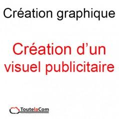 Création d'un visuel publicitaire