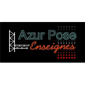 Poseur - Azur Pose Enseignes