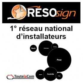 Résosign - Réseau national de poseurs