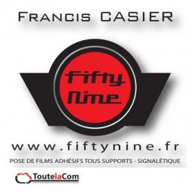 Fiftynine (59) - Poseur d'adhésifs
