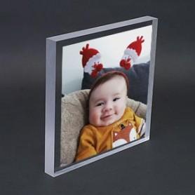 Plexiglas format standard 15 x 21 cm.
