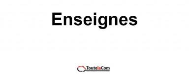 ENSEIGNES