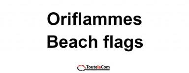 Beach flags / Oriflammes