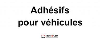 Adhésifs véhicules