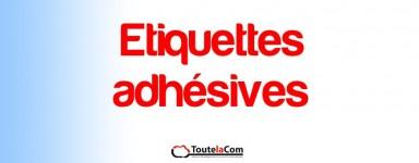 Etiquettes adhésives