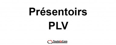 PRESENTOIRS / PLV