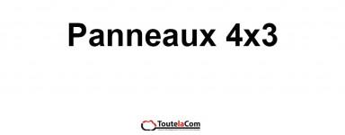 PANNEAUX 4X3