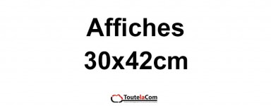 Affiches 30x42cm