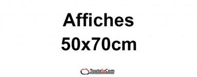 Affiches 50x70cm
