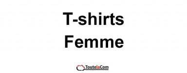 T-shirts femmes