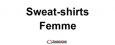Sweat-shirts femmes