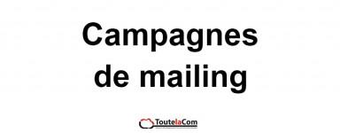 CAMPAGNES DE E-MAILING