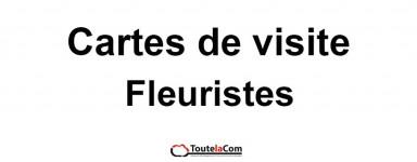Modèles Fleuristes