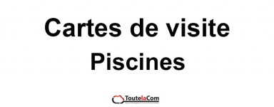 Modèles Piscines