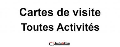 Tous types d'activité